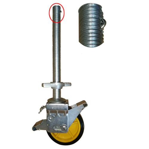 Self Leveling Scaffolding : Scaffolding tower caster wheels mount type industry news