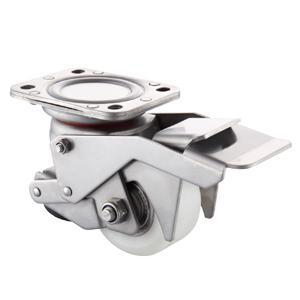 Leveling casters with foot pedal, JLCWP-75/80, Caster Wheels, China,  Factory, Suppliers, Manufacturers